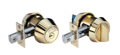 Mul-T-Lock Hercular High Security Dead Bolt System.